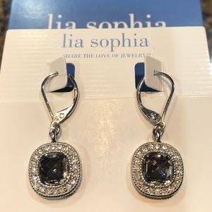 Lia Sophia drop earrings